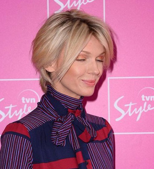 Fine-Short-Hair Latest Short Haircuts for Women 2019