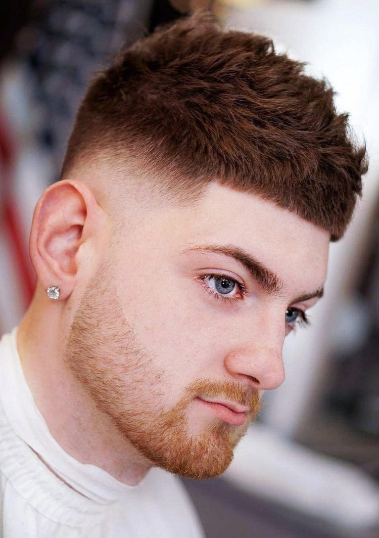 French-Crop-Undercut Stylish Undercut Hairstyle Variations in 2019: A Complete Guide