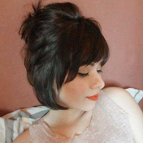Hairstyles-2019-Cute New Cute Hairstyle Ideas for Short Hair