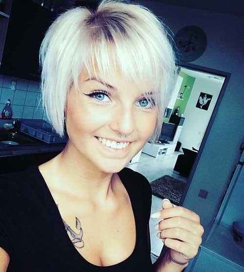 Hairstyles-Short-Hair New Cute Hairstyle Ideas for Short Hair