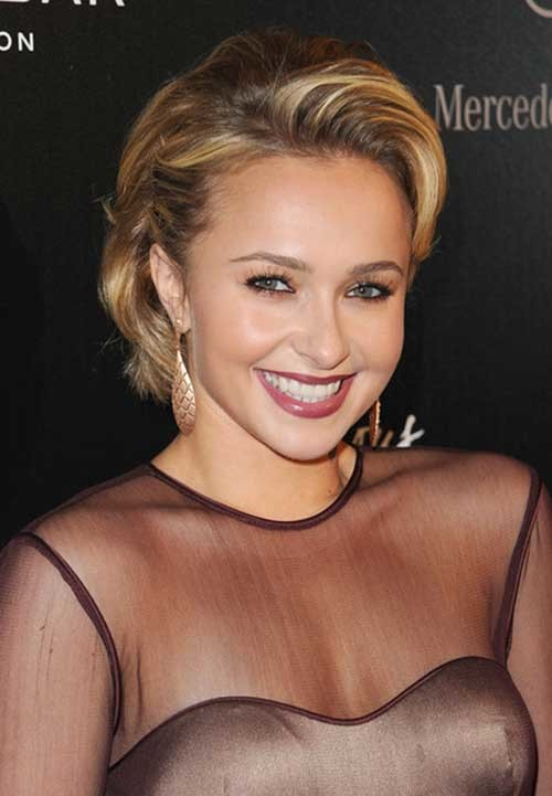 Hollywood-Style Hayden Panettiere Bob Style