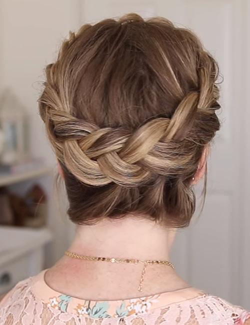 Inside-Out-Crown-Braid Beautiful Crown Braid Hairstyles