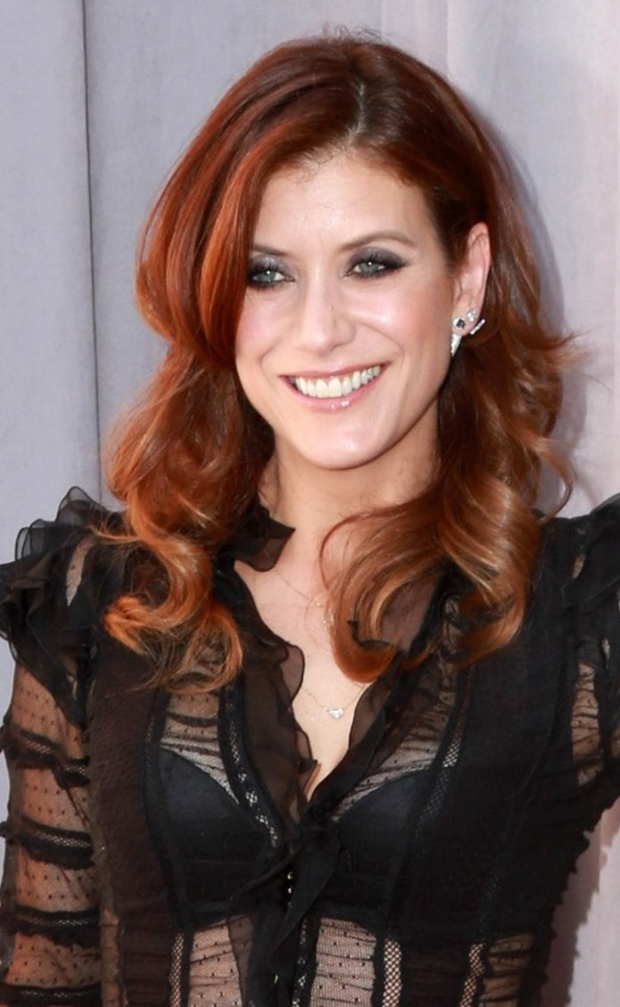 Kate-Walshs-Signature-Red-Locks Hairstyles for Women Over 40