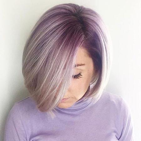 Lavender-Bob New Bob Hairstyles 2019