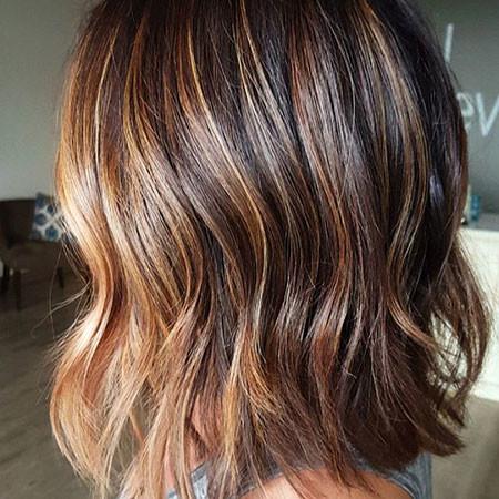 Layered-Brown-Hair New Bob Hairstyles 2019