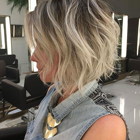 Messy New Bob Hairstyles 2019
