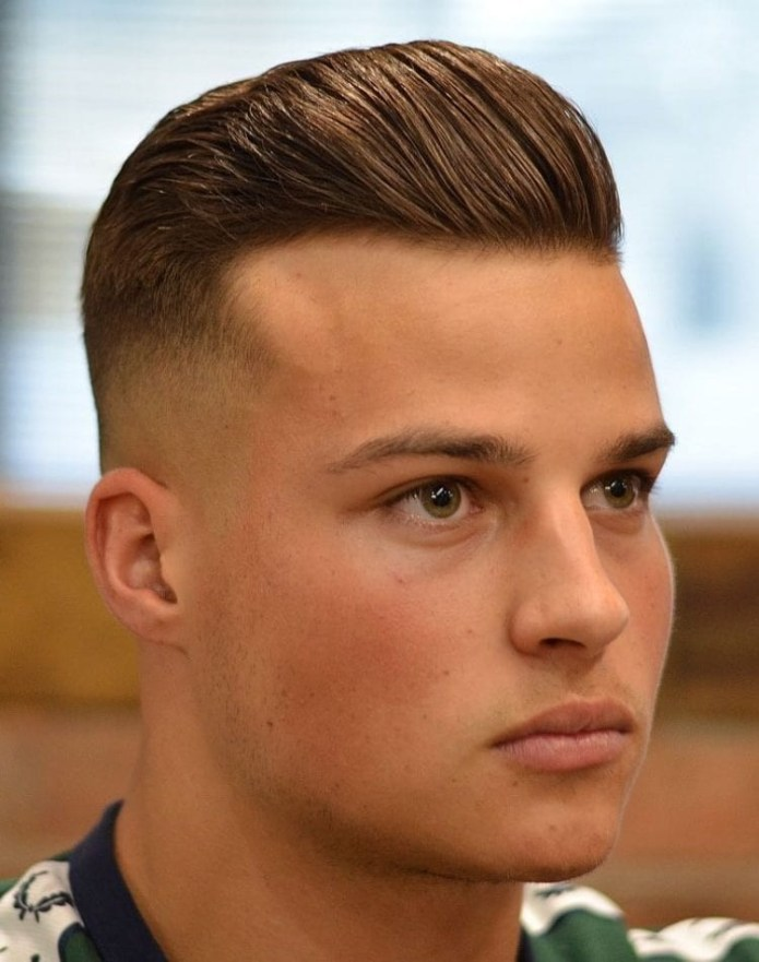 Mid-Skin-Fade-Short-Pompadour Stylish Undercut Hairstyle Variations in 2019: A Complete Guide