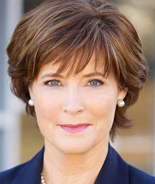 Modern-Short-Hair-Over-50 Short Hair Styles For Women Over 50