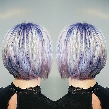 Pastel-Colorful-Hair New Bob Hairstyles 2019