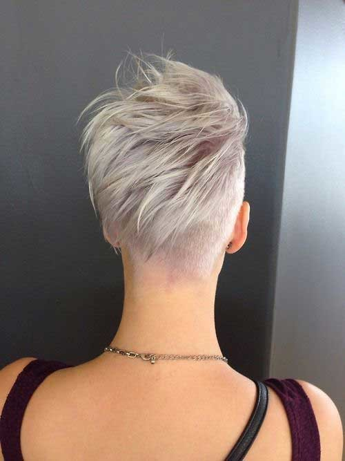 Pixie-Razor-Cut-Hairstyle Must-See Straight Hairstyles for Short Hair
