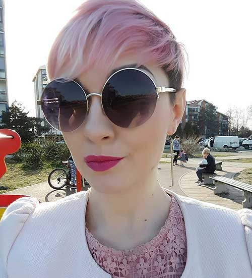 Pixie-with-Bangs New Cute Hairstyle Ideas for Short Hair