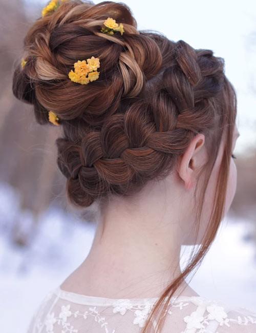 Princess-Crown-Braid Beautiful Crown Braid Hairstyles