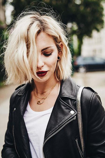 Short-Blonde-Hair Popular Short Blonde Hair 2019