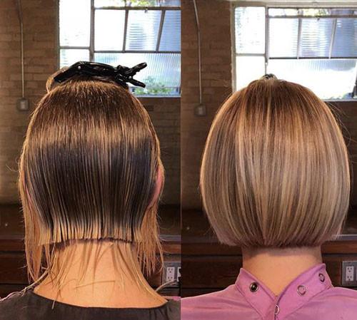 Short-Blunt-Haircut Haircut Styles for Short Hair