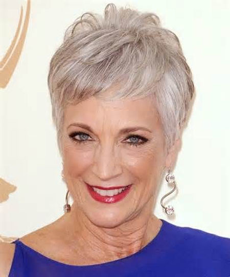 Short-Grey-Elegant-Haircut Short Hair for Older Women