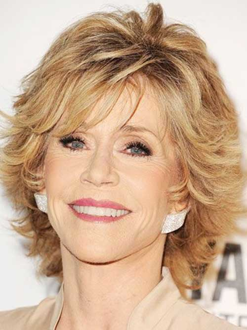 Short-Layered-Blonde-Hair-for-Women-Over-50 Short Hair Styles For Women Over 50