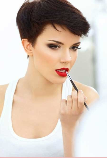 Short-Pixie-Haircut-with-Cool-Top Short Pixie Cuts for Women