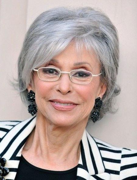 Short-Straight-Simple-Straight-Hair Short Hair for Older Women