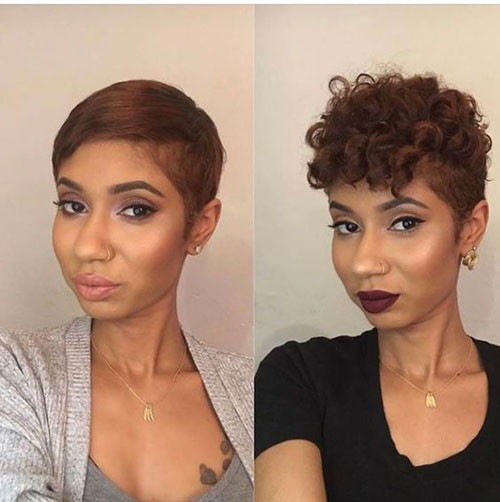 Straight-Or-Curly Best Short Hair Cuts on Black Women in 2019