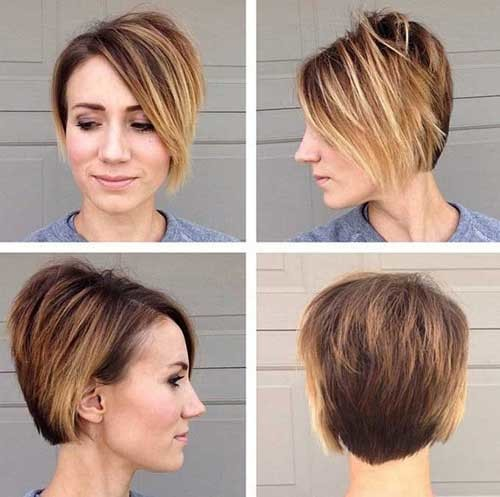 Stunning-Cut Asymmetrical Bob Haircuts