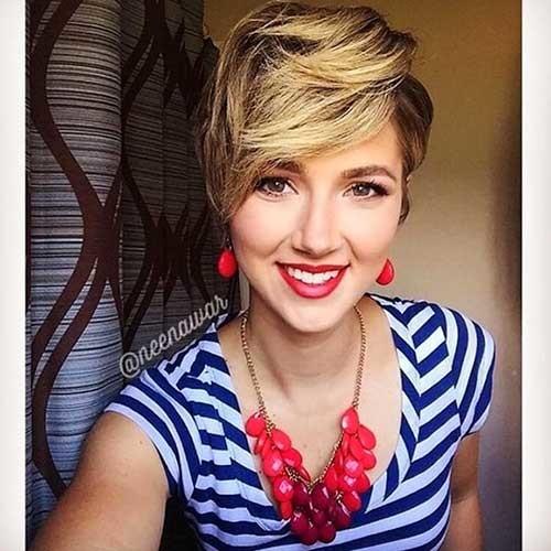Textured-Pixie-Cut New Cute Hairstyle Ideas for Short Hair