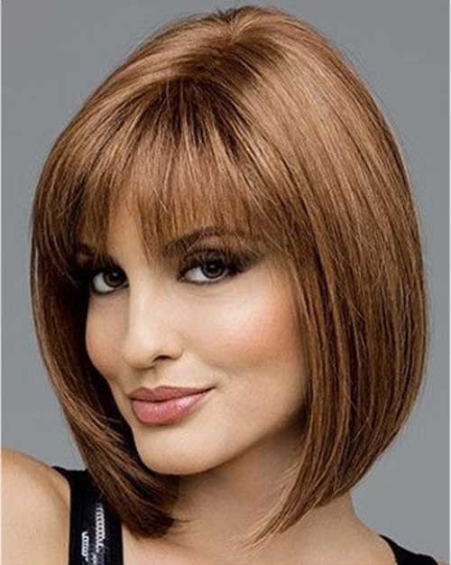 The-Best-Hair-Color-Idea Short Bob Haircut with Bangs