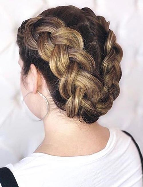 The-U-Dutch-Crown-Braid Beautiful Crown Braid Hairstyles