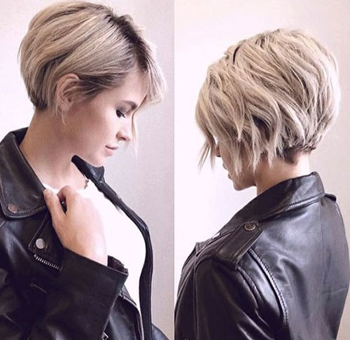 Trendy-Layered-Short-Hair-2019 Latest Short Haircuts for Women 2019