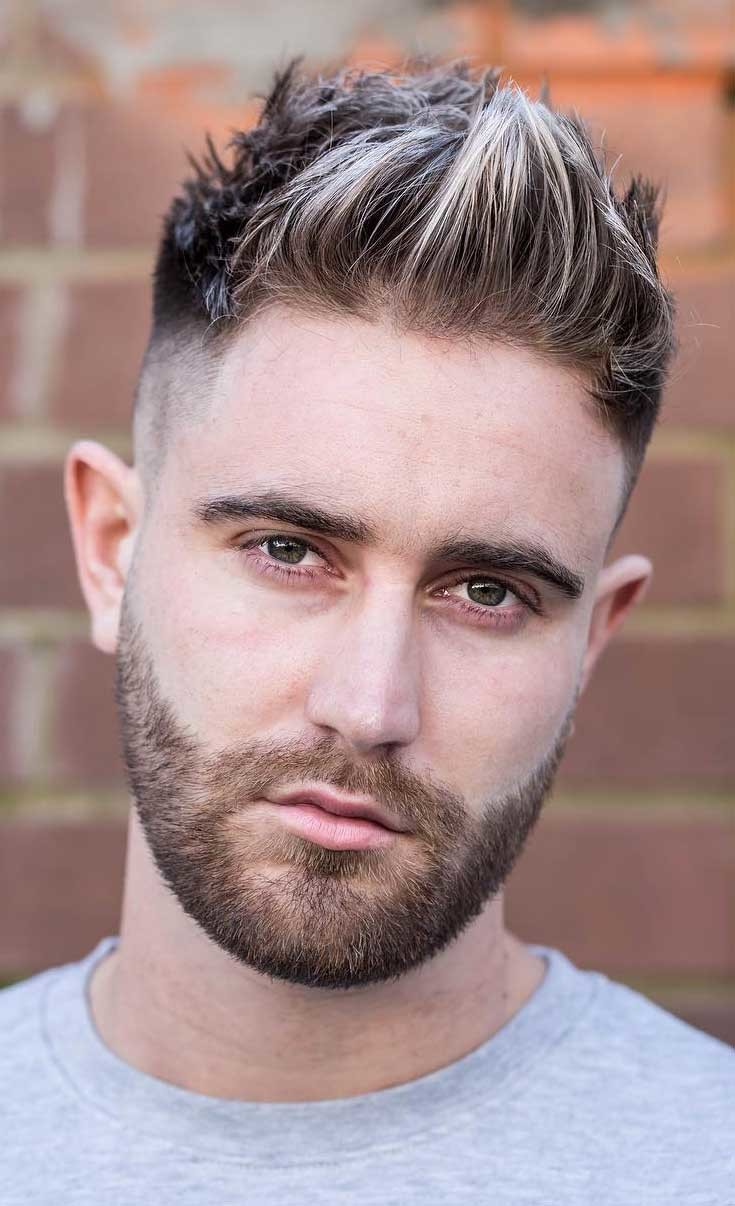 Undercut-Brushed-Up-Fohawk Stylish Undercut Hairstyle Variations in 2019: A Complete Guide