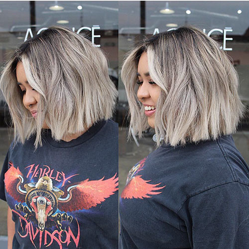 13-short-haircut.com-ash-blonde-ombre-short-hair New Ash Blonde Short Hair Ideas