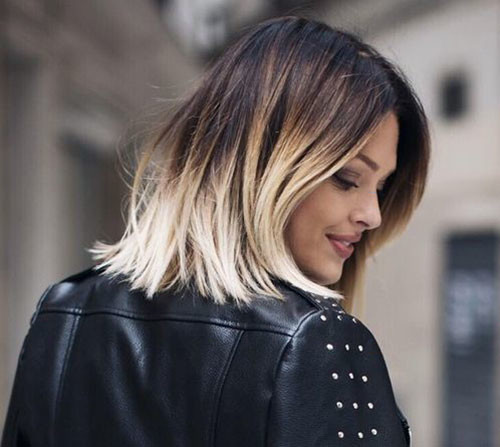18-brown-to-blonde-short-hair Beautiful Brown to Blonde Ombre Short Hair