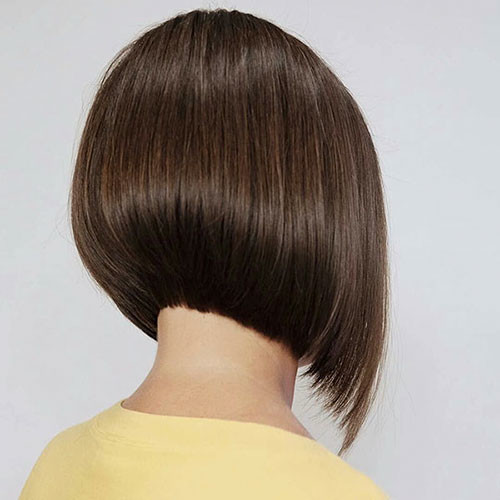 19-angled-bob Latest Bob Haircut Ideas for 2019