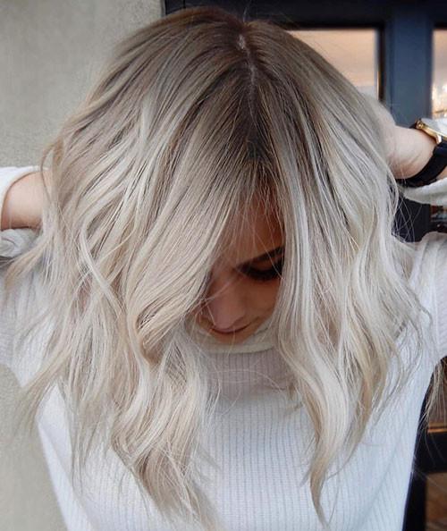 20-short-haircut.com-ash-blonde-ombre-short-hair New Ash Blonde Short Hair Ideas