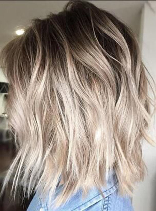 21-short-light-brown-hair-with-blonde-highlights Beautiful Brown to Blonde Ombre Short Hair