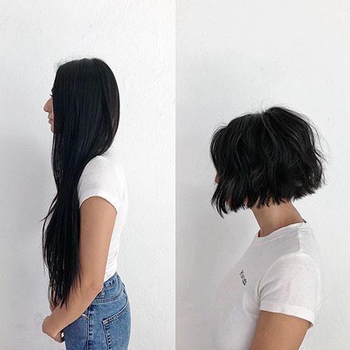 22-blunt-bob Latest Bob Haircut Ideas for 2019