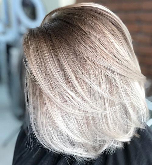 22-short-haircut.com-ash-blonde-ombre-short-hair New Ash Blonde Short Hair Ideas