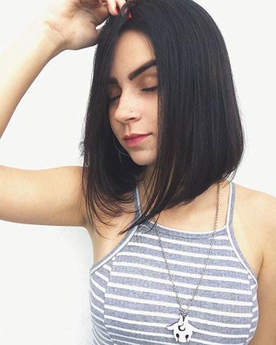 23-straight-bob-haircut Latest Bob Haircut Ideas for 2019