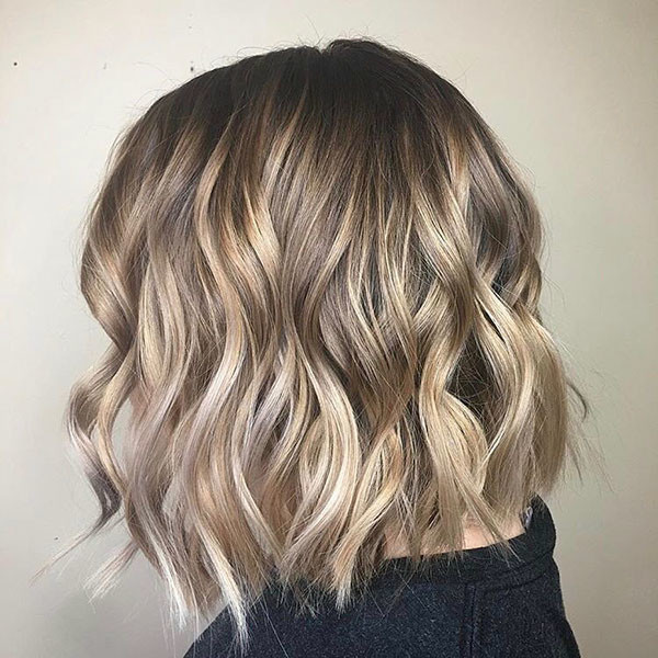 24-easy-hairstyles-for-short-wavy-hair New Short Wavy Hair Ideas in 2019