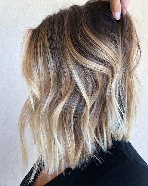 28-ombre-brown-to-blonde-short-hair Beautiful Brown to Blonde Ombre Short Hair