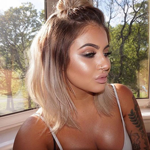 48-ombre-brown-to-blonde-short-hair Beautiful Brown to Blonde Ombre Short Hair
