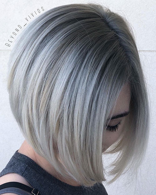 Ash-Blonde-Short-Hair-with-Highlights New Ash Blonde Short Hair Ideas