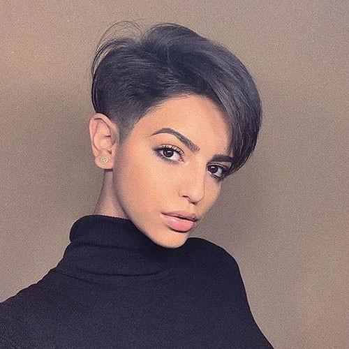 Ash-Brown-Short-Hair Short Brown Hairstyles for Fashionable Women