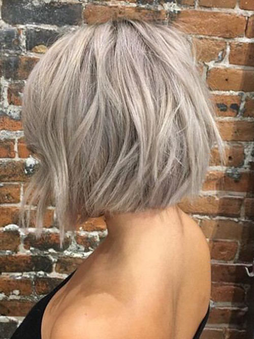 Ashy-Blonde-Short-Hair New Ash Blonde Short Hair Ideas