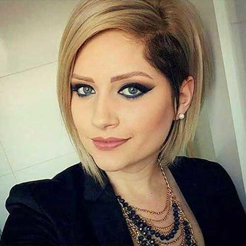 Asymmetric-Haircut Simple Short Hairstyles for Pretty Women