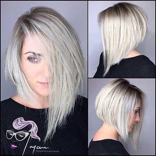 Asymmetrical-Long-Bob Asymmetrical Short Haircuts for Fabulous Look
