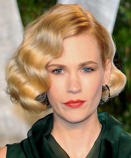 Asymmetrical-Wavy-Hairdo-for-Women The Best Wavy Hairstyles for Short Hair
