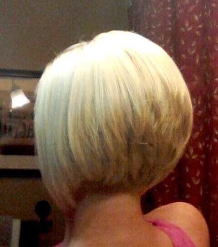 Back-View-of-Blonde-Colored-Bob-Hairstyle-for-Girls Pics of Bob Hairstyles 2019