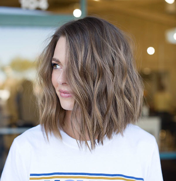 Beach-Wavy-Hair New Short Wavy Hair Ideas in 2019