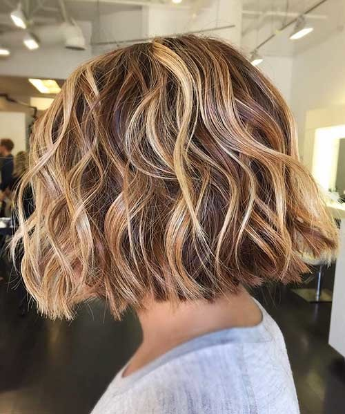 Beautiful-Deep-Honey-Blonde-Hair Most Magnetizing Hairstyles for Curly and Wavy Hair