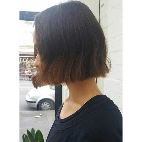 Blunt-Bob-Haircut Nice Short Hairstyle Ideas for Teen Girls
